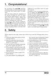 congratulations safety seca 899 user manual page 18 188