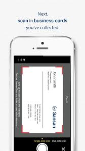 App For Scanning Business Cards Sansan The Business Card Box For Your Team App For Ios U2013 Review