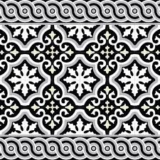 buy beija flor mountain vinyl floor mat black white amara