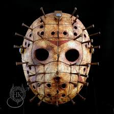 Halloween Mask Jason by Jason Voorhees Pinhead Mashup Mask Berserker By Hauntedknoll
