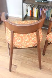 Mid Century Chair A Pair Of Mid Century Chairs The Salvaged Boutique