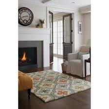 floral bell hand tufted indoor outdoor area rug threshold target
