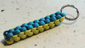box keychain how to make a crown sinnet box knot paracord keychain