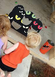 halloween game eyeball toss create celebrate explore