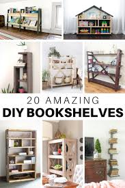 what of wood is best for shelves 20 amazing diy bookshelf plans and ideas the house of wood