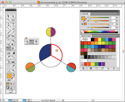 diagram illustrator how to colour segments of a circle with
