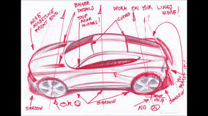 how to start drawing a car online course with luciano bove youtube