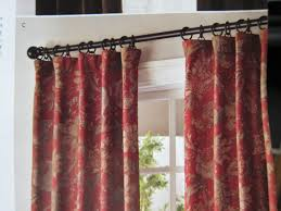 curtains curtains cabin window treatments cabin rustic red