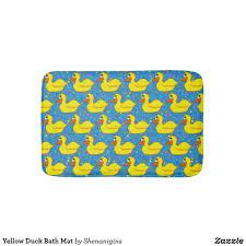 Yellow Duck Bath Rug Yellow Duck Bath Mat
