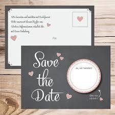 ausgefallene einladungen hochzeit die besten 25 save the date karten ideen auf save the