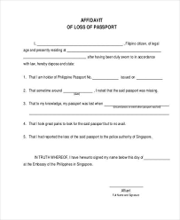 affidavit of loss template hitecauto us