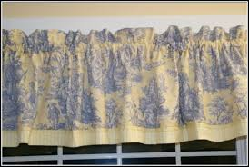 Kitchen Curtains Blue Captivating Blue And Yellow Kitchen Curtains Decorating With 10