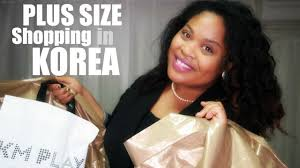 plus size shopping in korea where to shop in seoul youtube