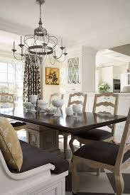 Dining Room Drum Chandelier by Minneapolis Dining Benches And Room Traditional With Harlequin