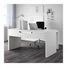 bureau blanc ikea malm bureau avec tablette coulissante blanc malm desks and bureaus