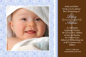 excellent invitation card for baptism of baby boy 11 in sles of