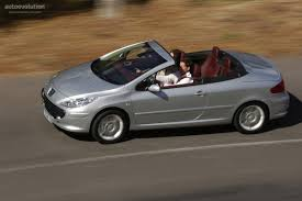 peugeot convertible peugeot 307 cc specs 2005 2006 2007 2008 autoevolution
