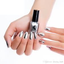 high quality 6ml nail glitter powder gold silver mirror metallic