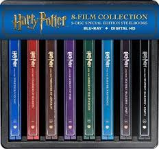 blu rays black friday deals best buy harry potter complete 8 film collection blu ray steelbook