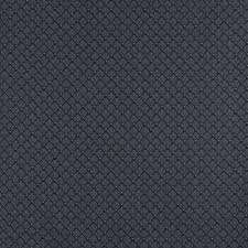Blue Upholstery Fabric Navy Blue And Gold Small Shell Jacquard Woven Upholstery Fabric By