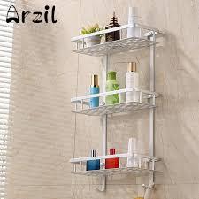 serviette cuisine 3 niveau rack salle de bains serviette en aluminium caddy