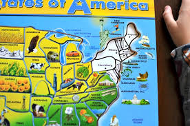 usa map puzzle for toddlers usa map puzzle for toddlers wooden puzzle map thempfa org