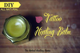 tattoo care essential oils tattoo balm diy all natural healing the herbal healing mama