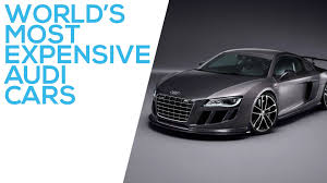audi costly car most expensive audi cars in the top 5