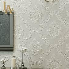 Simple European Living Room Design by Aliexpress Com Buy European Simple Luxury Beige Grey 3d Damask