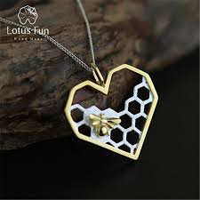 sterling silver handmade necklace images Wholesale lotus fun real 925 sterling silver handmade fine jewelry jpg