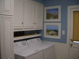 Washer And Dryer Cabinet Countertops Small Laundry Room Design Storage Between Washer And