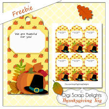 thanksgiving blessing mix printable gift bags tag freebie