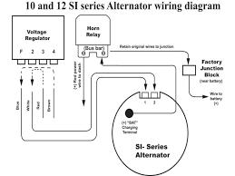 wiring diagrams 1 wire alternator hook up delco cs130 alternator