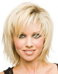 linda gray hairstyle short layered straight human hair wigs for