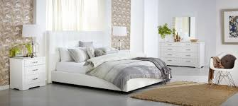 Modern White Bedroom Suites Inspirations And Furniture Homes - Modern white leather bedroom set