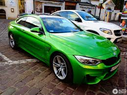 green bmw m4 bmw m4 f82 coupé 20 november 2016 autogespot