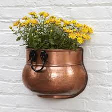 Metal Wall Planter by Planters U0026 Windowboxes Signature Hardware