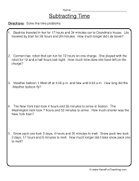 elapsed time word problems worksheets grade 5 56 best time