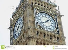 London Clock Tower Big Ben Clock Tower Stock Photography Image 32713592