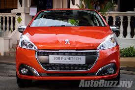 peugeot japan peugeot 208 and 2008 facelift previewed new 1 2l turbo arriving