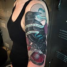 25 trending raven tattoo meaning ideas on pinterest shoulder