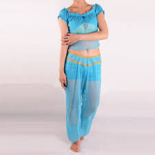 Princess Jasmine Halloween Costume Women Aliexpress Buy Aladdin U0027s Princess Jasmine Costume Women