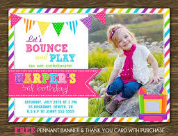17 best bounce house invitations images on bounce