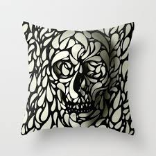 amazon com fashionable home decor yan skull pillowcase new design
