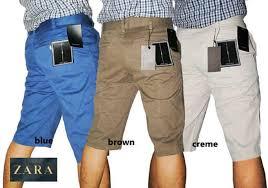 Celana Zara jual celana pendek chino zara celana chinos pendek vans di lapak