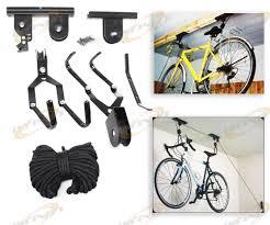 Bicycle Ceiling Hoist by Ceiling Bicycle Garage Hoist Storage Mount Lift Garage Hanger