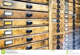 antique wood filing cabinet drawers stock photos image 7982423