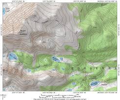 Beaver Creek Colorado Map by Protrails Mt Audubon Trail Map Brainard Lake Recreation Area