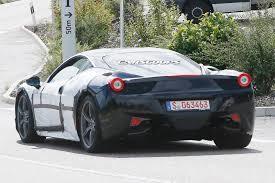 Ferrari 458 V8 - ferrari spied testing 458 facelift will likely get new turbo u0027d v8