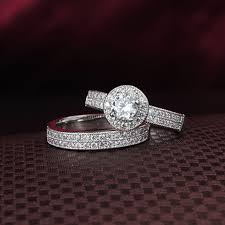 bridal sets rings bridal sets rings for women sterling silver jewelry 925 silver